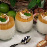 James Tanner passion fruit panna cotta recipe on Lorraine