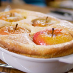 Raymond Blanc  semolina souffle with  apples   recipe on Food and Drink