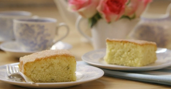 Lemon Verbena Cake Mary Berry