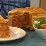Simon Rimmer Maltese Timpana Pasta Pie Recipe on Sunday Brunch