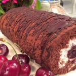John Whaite Black Forest gateau recipe on Lorraine for Eurovision