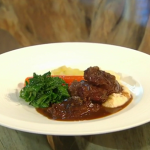 James Martin Braised pig cheeks recipe on Saturday Kitchen