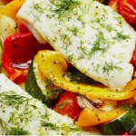 Sally Bee Baked cod provençale recipe on Lorraine
