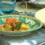 Gino courgette frittata  with tomato and basil  salsa recipe on Gino's Italian Escape