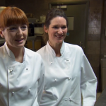 Novikov Restaurant plays host to Celebrity Masterchef 2015 as Tish and Yvette try to impress in the kitchen