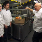 Cicchetti Restaurant on MasterChef 2015 challenge Syd and Sam in the kitchen
