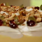 Nigel Slater dad's Christmas banana custard trifle recipe on Nigel Slater: Eating Together