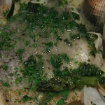 Rick Stein hake with clams recipe on Saturday Kitchen
