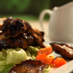 Solomon jerk chicken recipe on BBQ champ
