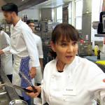 Massimo Italian restaurant on Celebrity MasterChef 2015 put pressure on Arlene, Andy and Rylan