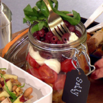 Sally Bee Bikini Promise lunch box  recipe on Lorraine