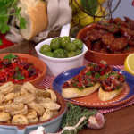 Dean Edwards Spanish tapas recipe on Lorraine