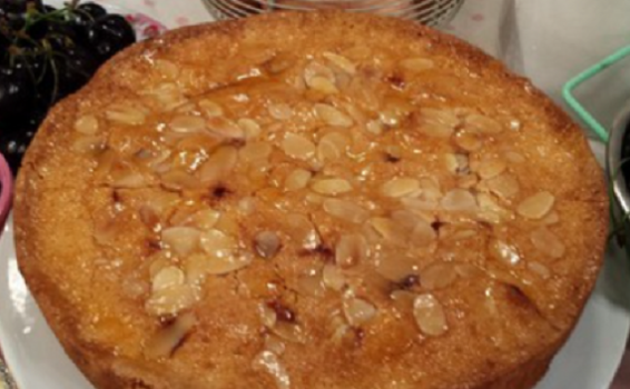 James Tanner Gluten Free Cherry And Almond Cake