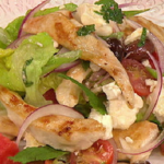 James Tanner Fruity Greek salad recipe on Lorraine