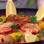 James Tanner One-pot paella recipe on Lorraine
