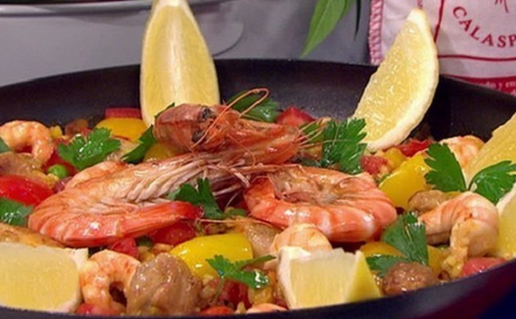 James Tanner served up one-pot paella for a tasty supper replacing ...