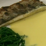 Rick Stein sea bass with beurre blanc sauce recipe on Saturday Kitchen