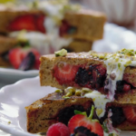 Jamie Oliver Berry Pocket Eggy Bread with Pistachios recipe on Jamie's SuperFood