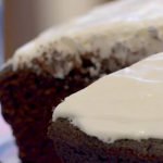 Chocolate Guinness Cake on Terry and Mason's Great Food Trip