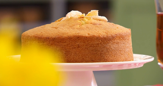 Mary S Kitchen Lemon Madeira Cake