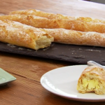 Paul Hollywood baguettes recipe using British white strong flour on Bake Off Masterclass 2015
