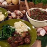 James Tanner beef bourguignon with celeriac mash recipe on Lorraine