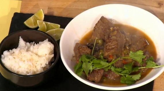 Simon Rimmer Beef Lemongrass and Chilli Stew recipe on Sunday Brunch ...