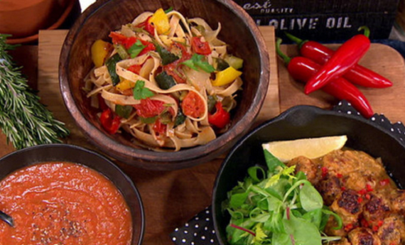 Sally Bee vegetable sauce for flu sauce with turkey meatballs recipe ...