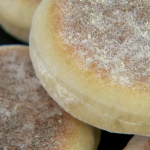 Paul Hollywood English muffins recipe on Bake Off Masterclass