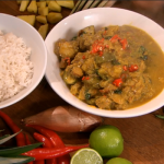 Rick Stein Cambodian pork with coconut and pineapple curry recipe on Saturday Kitchen