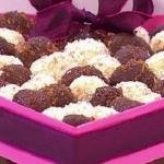 John Whaite chocolate truffles recipe on Lorraine