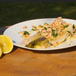 Brian Turner skate with smoked salmon recipe on My Life on a Plate