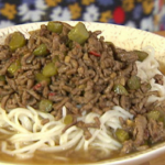 Ching He Huang Beef Dan Dan noodles recipe on Lorraine