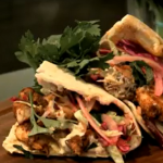 Ainsley Harriott chicken shawarma recipe on Ainsley's Big Food Adventure