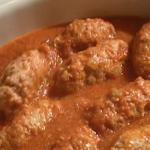 Antonio Carluccio Jewish chicken breast meatballs with tomato sauce recipe on Saturday Kitchen