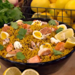 Nadia Sawalha smoked haddock kedgeree recipe on Lorraine