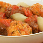 Brian Turner lamb stew with dumplings recipe on My Life on a Plate