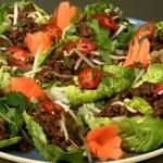 Ainsley Harriott Vietnamese pork minced in lettuce leaf recipe on Len and Ainsley's Big Food Adventure