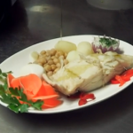 Isabella's portuguese bacalhau salt cod dish on Len and Ainsley's Big Food Adventure