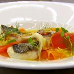 Monica Galetti sea bream escabeche style recipe on MasterChef: The Professionals