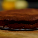 James Martin dark chocolate and figs mousse cake  recipe on Home Comforts at Christmas