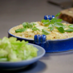 James Martin's macaroni cheese recipe on Home Comforts at Christmas