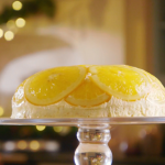Mary Berry rosace a l'orange recipe on The Great British Bake Off Christmas Masterclass