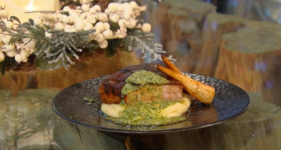 The Hairy Bikers' Roast Belly Of Pork Recipe — Dishmaps