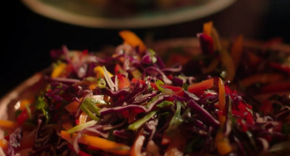 Nigella Lawson Rainbow Coleslaw Recipe On Simply Nigella