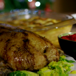James Martin Christmas roast duck with boulangere potatoes recipe on Home Comforts at Christmas