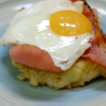 James Martin apple and potato rosti recipe on Home Comforts at Christmas