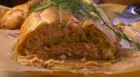 Nigel Slater served up a sumptuous salmon wellington for the festive season on Saturday Kitchen.