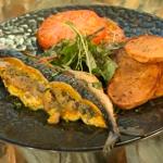 Cyrus Todiwala stuffed mackerel with prawns recipe on Saturday Kitchen