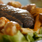 Annie Grey roast beef dinner recipe on James Martin: Home Comforts